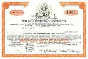 Wilson Sporting Goods Co