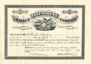 Winner Investment Company - SOLD