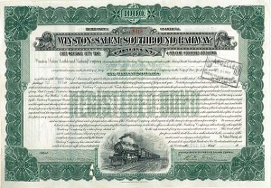 Winston-Salem Southbound Railway - Bond