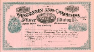 Wisconsin and Colorado Silver Mining Co.
