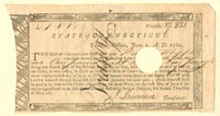 State of Connecticut Line Note signed by William Whipple