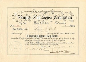 Woman's Club House Corporation