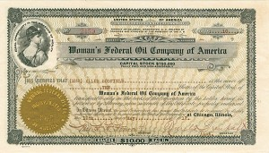Woman's Federal Oil Company of America