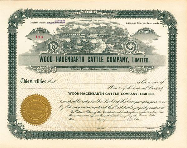 Wood-Hagenbarth Cattle Company, Ltd - SOLD