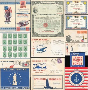 World War II Collection of Bond and Bond Drive Memorabilia - SOLD