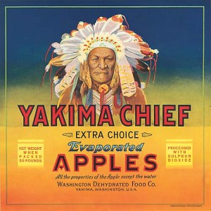Fruit Crate Label - Yakima Chief