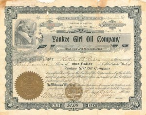 Yankee Girl Oil Company - SOLD